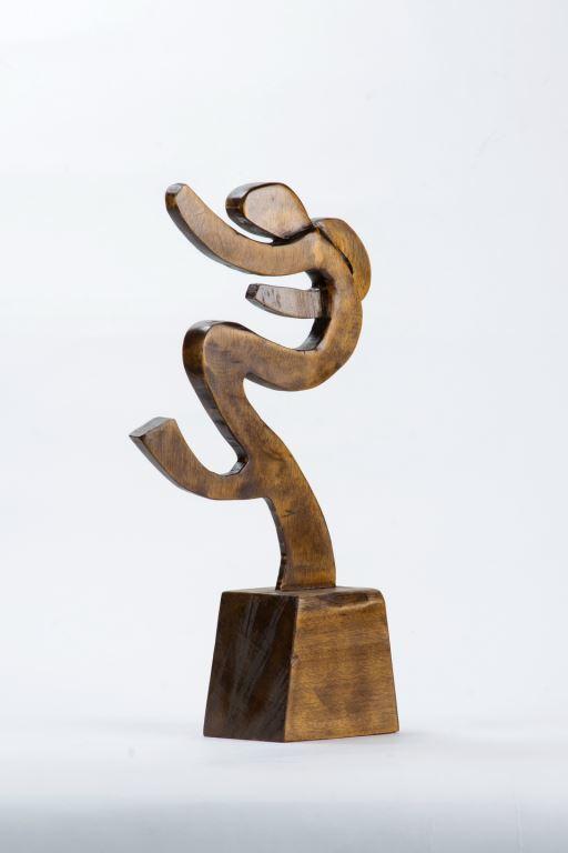 木雕作品人型