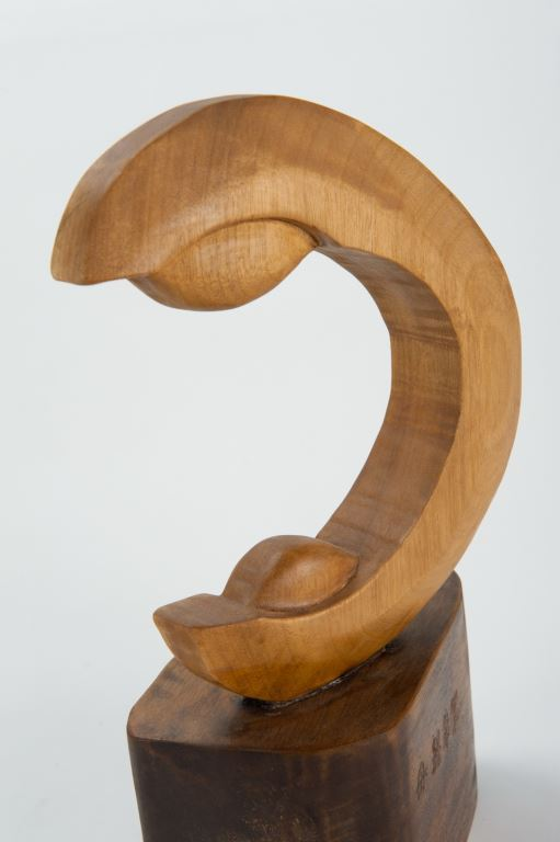 木雕作品弧