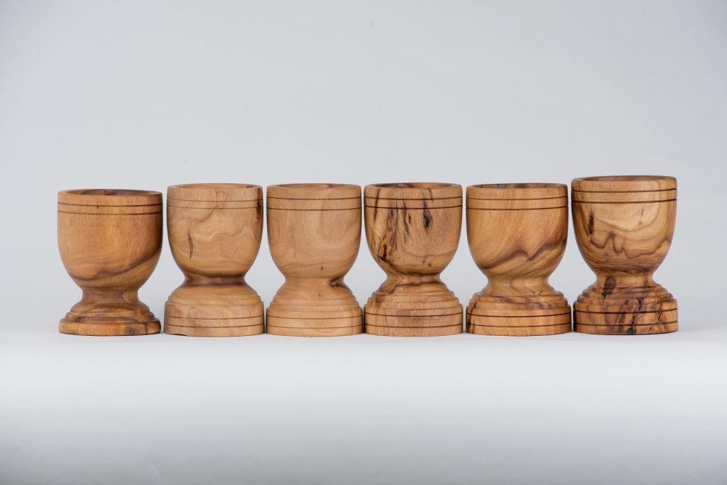 木製個性臼型杯