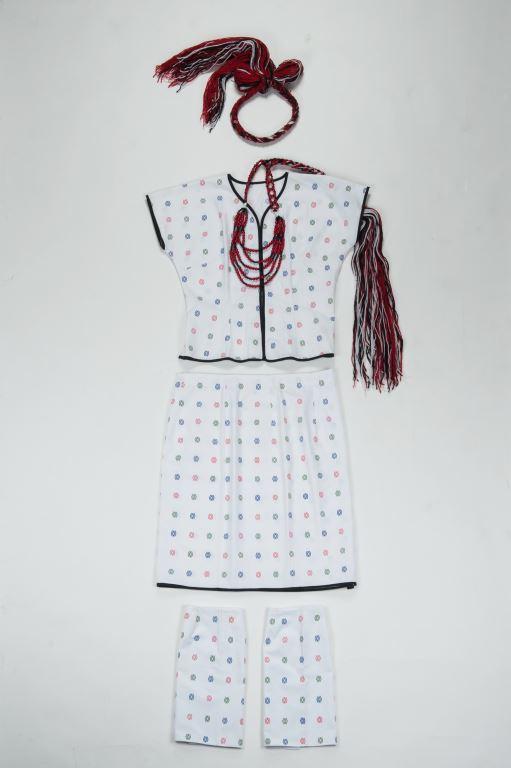 毛線、棉、麻、塑膠串珠、人造纖維